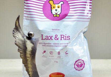 Husse Lax&Ris – geriausias sausas maistas Lenkijoje.