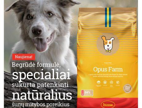 NAUJIENA šunims – jau Lietuvoje!